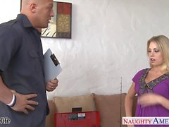 Superb blonde wife Shawna Lenee gets fucked