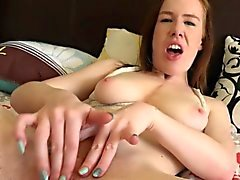 Kierra Wilde getting rough with herself