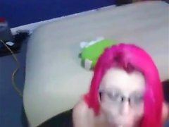 Red haired blowjob