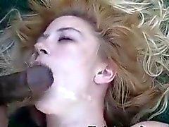 An outdoor IR anal gangbanging