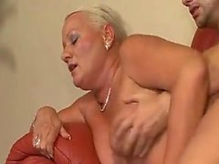 Busty puffy mature milf obtaining fu and stroking hard peni