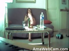 slut french on hidden cam - sexcam