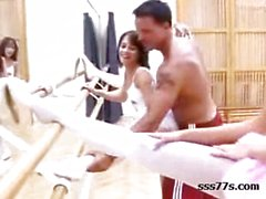 Ballerina Group sex