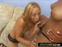 Interracial strapon domination lesbians 21