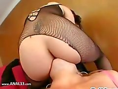Ultra hot lingerie and ass acrobats