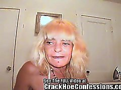 Ugly Old Lady Crack Hoe!