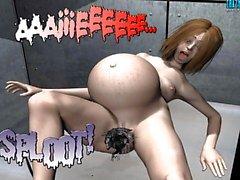 3D Comic: Spermaliens 1