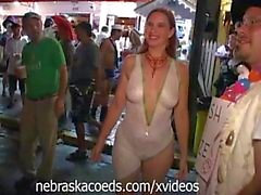 Crazy Halloween Street Party Part 2