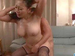 Busty Rei Kitajima deals cock in superb group scenes