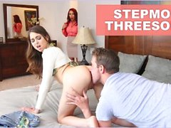 BANGBROS - Stepmom Janet Mason Fucks Riley Reid And Her Boyfriend