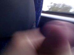 Masturbating in the bus