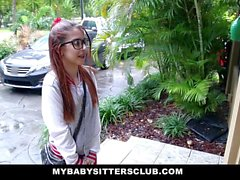 Petite Babysitter Fucked By The Horny Boss