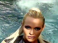 blond woman gangbanged