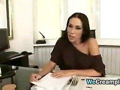 Sexy Secretary Fucked At Work