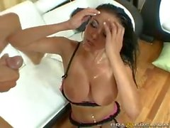 Audrey Bitoni Doggystyle and cumshot!