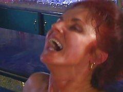 German bruenette Mature 40y gets fantasy Fuck CSp