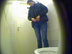 camera in the ladies toilet