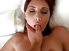 Sexy girlfriend first time anal session