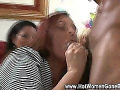 Real cfnm party girls sucking