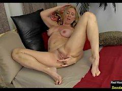Mature Show Her Huge Nipples