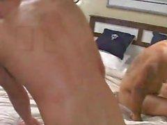 Große Latino Muskel Dick