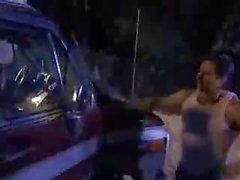 Hot Madison banged inside a Car