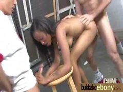 Hot Ebony Gangbang Fun Interracial 22