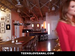 TeensLoveAnal Hot Teen Robbed And Fucked During Christmas