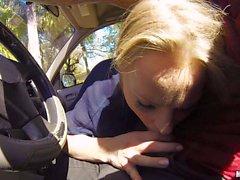 Staci Carr car deep throat
