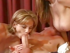 Wild Milf Mom And Daughter Loves Cock