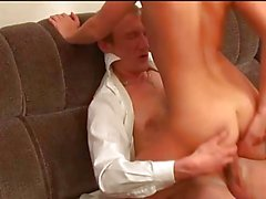 Older man fucks young girl - 8