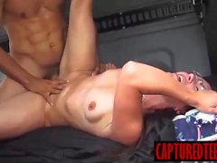 Evelyn gets drilled by horny latino