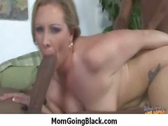 Busty mom milf rides black monster cock 19