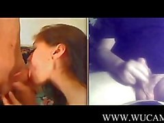 Cam2cam with horny couple italian wetpi