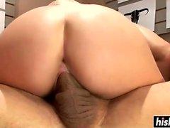 Riley Paige enjoys a good pounding