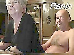 Couple ancien avant sur Webcam