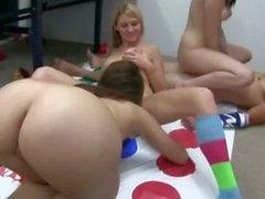 Twister Mat Orgy