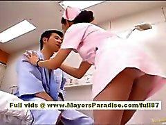 Nao Yoshizaki Sexy Chinese girl enjoys on a bus ride