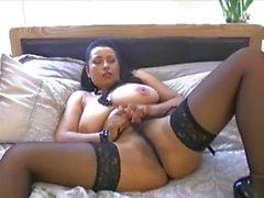 sexy big tit milf danica collins masturbating