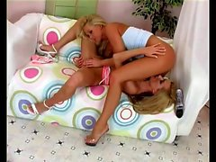 Silvia Saint and Sue Diamond relish the taste of each other's pussies
