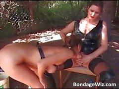 Hot looking brunette gets wet pussy part1