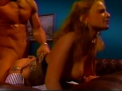 Sexy Redhead Gets Double Penetration In Vintage Adult