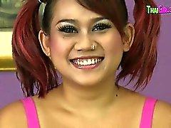 Oriental Schoolgirl Lin Enjoys Doggystyle
