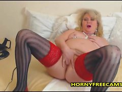 German Mature Is A Multi Squirter