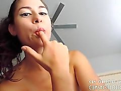 Great Busty Camgirl Teasing