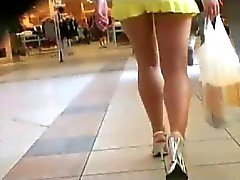 Upskirt Little White Panties 2
