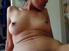 Thai girlfriend creampied