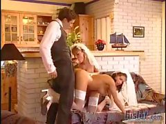 Bianco Dagger and Sandra Iron want to get married but fuck first