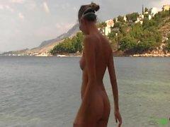 Katya Clover - First Nude Swim