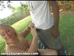 Samantha 38G Fucks a Stranger